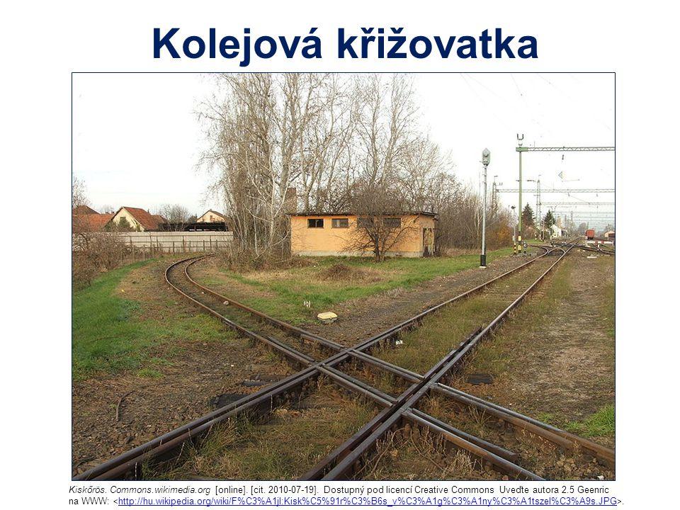Kolejová křižovatka Kiskőrös. Commons.wikimedia.org [online]. [cit. 2010-07-19]. Dostupný pod licencí Creative Commons Uveďte autora 2.5 Geenric.